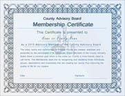 Graphic Design Contest Entry #17 for Design a membership certificate