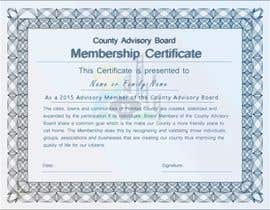#17 for Design a membership certificate by tanzeelhussain