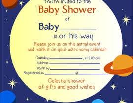 Nro 14 kilpailuun Baby Shower Invite käyttäjältä istykristanto