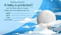 Bài tham dự #36 về Graphic Design cho cuộc thi Baby Shower Invite