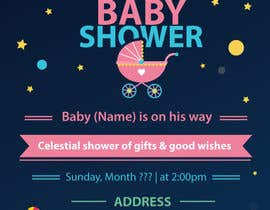 #33 for Baby Shower Invite by Dezign365web