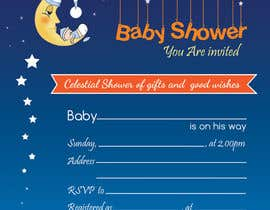 #32 for Baby Shower Invite by fardiaafrin