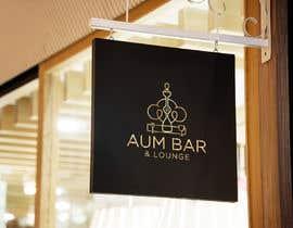 Nro 184 kilpailuun Logo Design for Aum Bar & Lounge käyttäjältä beautyakter0163