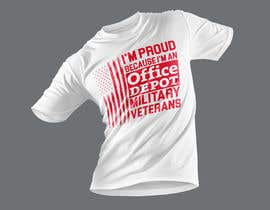 #486 for Military Veteran T-Shirt Design af Wasiulhera