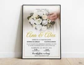 Nro 4 kilpailuun Wedding invitation template käyttäjältä Crackerm1101