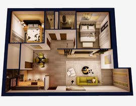 #32 untuk 2 bedroom apartment interior design oleh ashaislam25