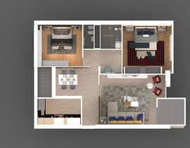 #45 untuk 2 bedroom apartment interior design oleh anuradhagupta200