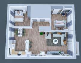 #38 untuk 2 bedroom apartment interior design oleh ahmedkhijir