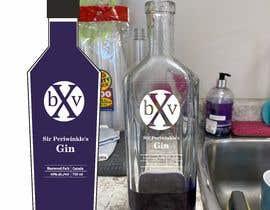 #6 for Purple gin silk screened Label af AlbinaNova