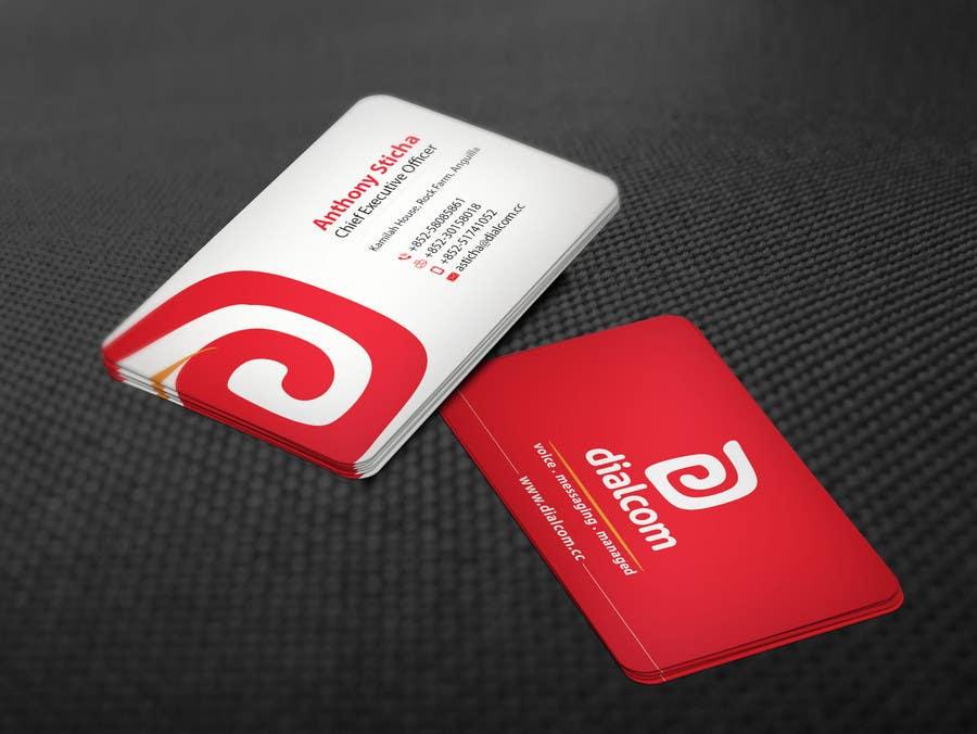 Konkurrenceindlæg #                                        132                                      for                                         Design some Business Cards for Dialcom Inc.