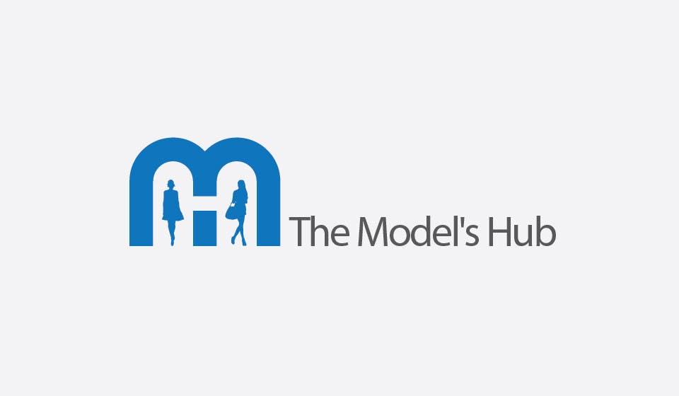 Konkurrenceindlæg #                                        62                                      for                                         The Model's Hub Logo