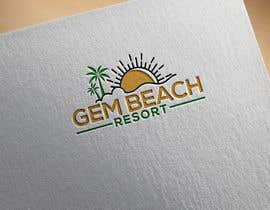 Nro 170 kilpailuun Gem Beach Resort logo käyttäjältä sohanursayham1