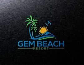 Nro 204 kilpailuun Gem Beach Resort logo käyttäjältä rashidooo
