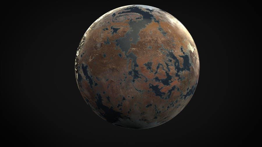 Konkurrenceindlæg #6 for Design an Exoplanet Texture in 4K