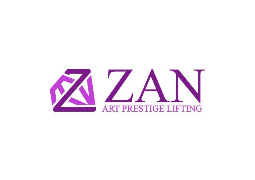 Kilpailutyö #56 kilpailussa Разработка логотипа for ZAN ART PRESTIGE LIFTING