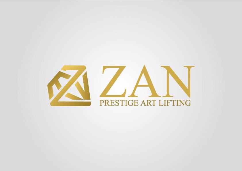 Kilpailutyö #67 kilpailussa Разработка логотипа for ZAN ART PRESTIGE LIFTING