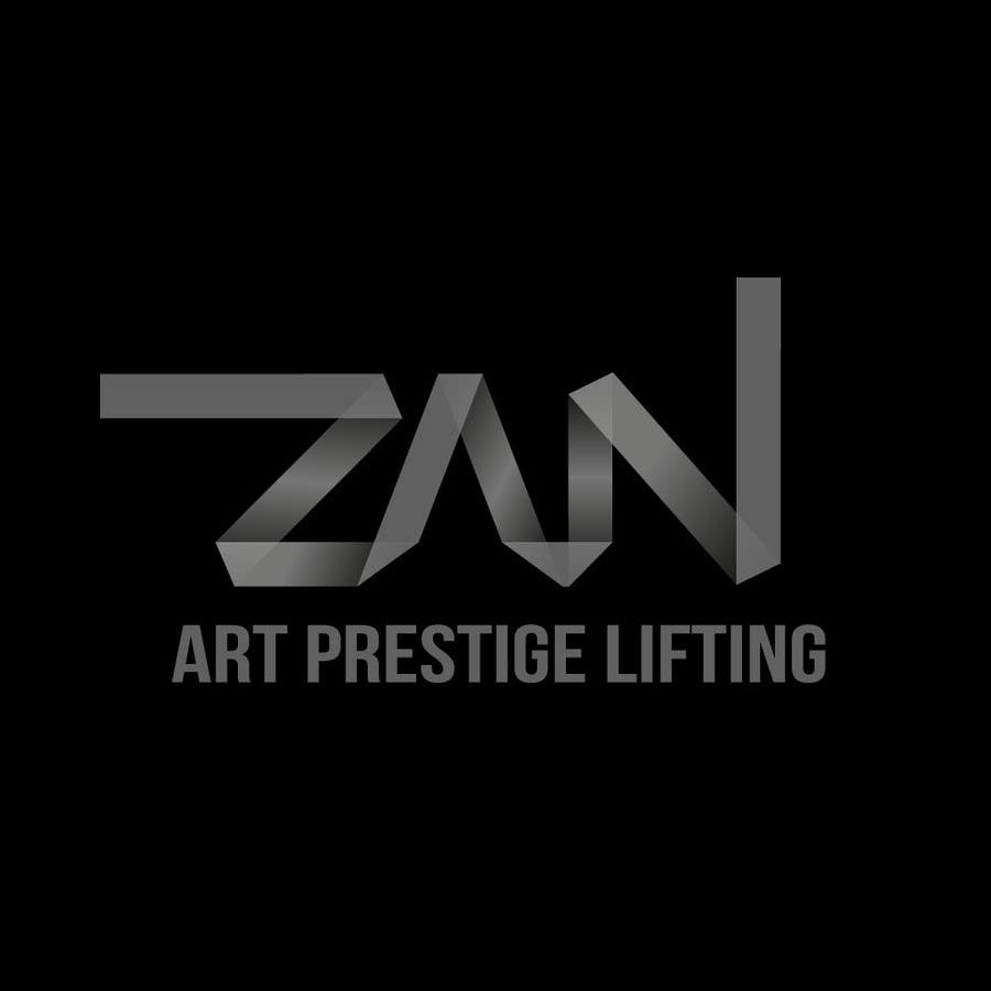 Kilpailutyö #53 kilpailussa Разработка логотипа for ZAN ART PRESTIGE LIFTING