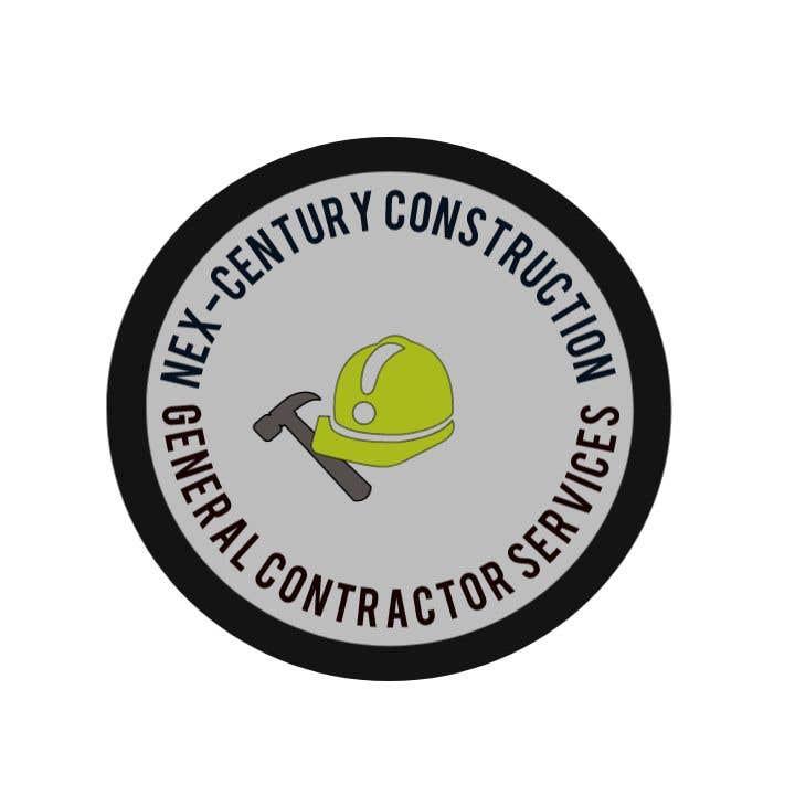 Bài tham dự cuộc thi #                                        34                                      cho                                         Design Logo for a Construction company hammer and hard hat