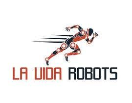 #178 for Logo Design for La Vida Robots (www.lavidarobots.org) af BlackWhite13