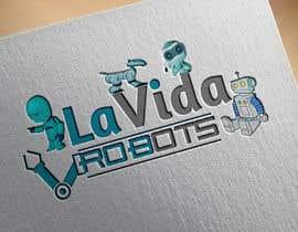 nº 180 pour Logo Design for La Vida Robots (www.lavidarobots.org) par princepatel96