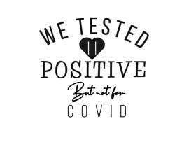 #18 pentru Custom Typography Graphic Design - We Tested Positive de către Mostaq418