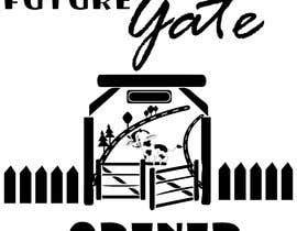 Nro 24 kilpailuun Custom Typography Graphic Design - Future Gate Opener käyttäjältä praptishah29