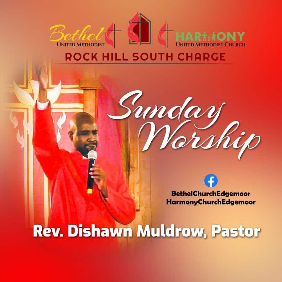 Kilpailutyö #                                        122                                      kilpailussa                                         Church Logo/Poster Revamp - 14/06/2021 01:57 EDT