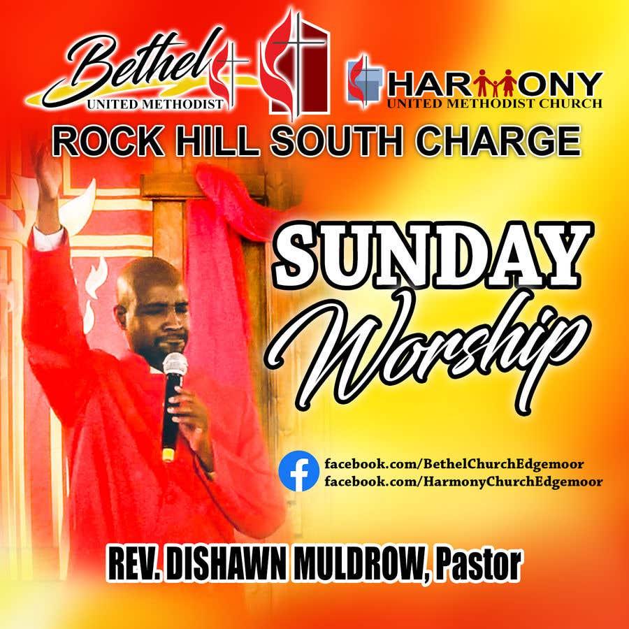 Kilpailutyö #                                        130                                      kilpailussa                                         Church Logo/Poster Revamp - 14/06/2021 01:57 EDT