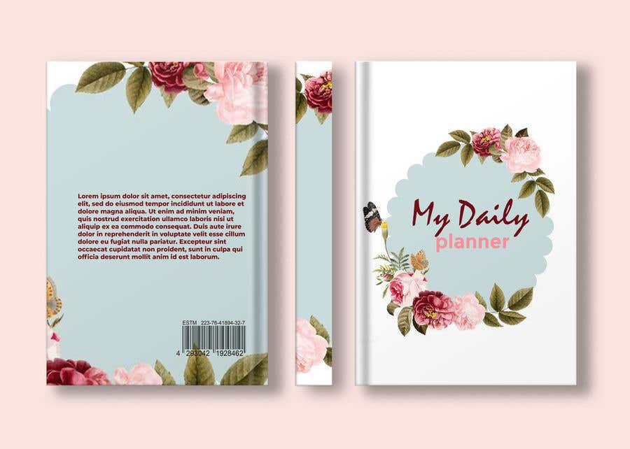 Proposition n°                                        72                                      du concours                                         Design book cover (Cover and redesign our planner)