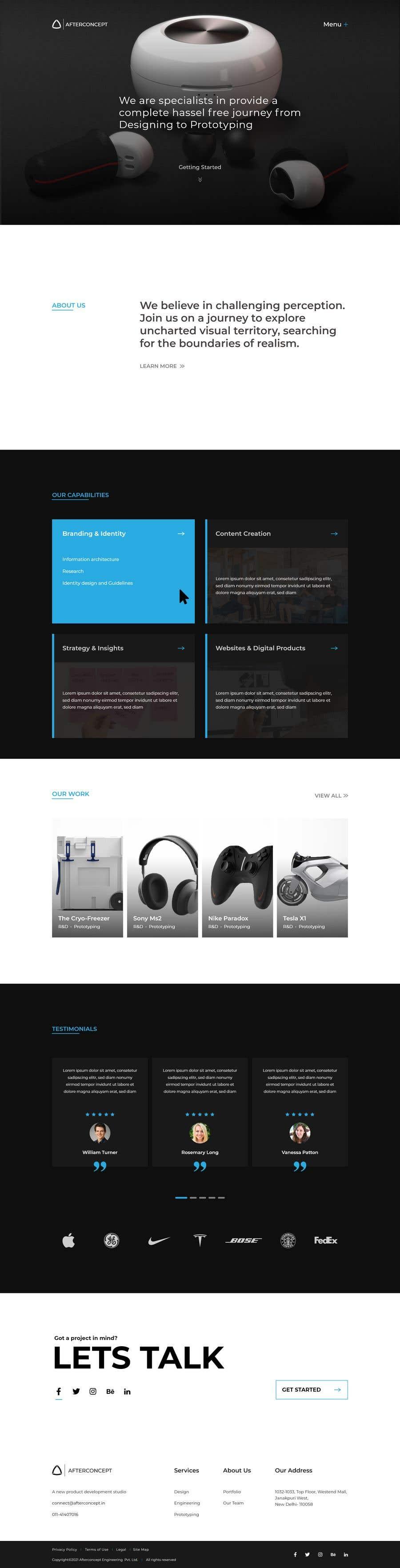 Konkurrenceindlæg #                                        24                                      for                                         Improve UI/UX design for the website