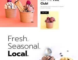 #15 for Website Ideas for Ice Cream shop af freelancerasraf4