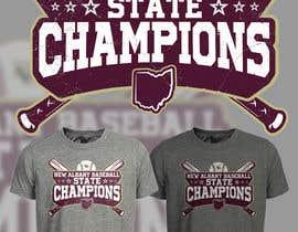 #221 untuk New Albany Ohio Baseball State Champs Tee Shirt Design oleh Maxbah