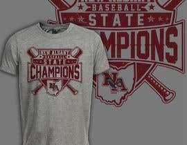 #434 untuk New Albany Ohio Baseball State Champs Tee Shirt Design oleh romimulawarman