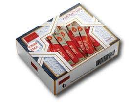 #21 for sugar stick box design by ahalimat46