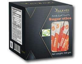 #23 for sugar stick box design by ahalimat46