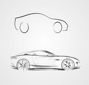#15 for Create an Outline sketch for a car as per given example af artworker512