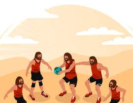 #8 untuk Jesus and The Starting 5 oleh Oswergg