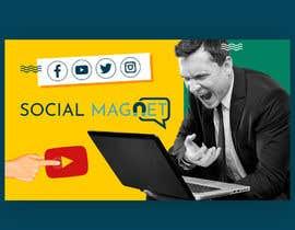 """Nro 19 kilpailuun Seven YouTube Thumbnails for """"Social Magnet"""" käyttäjältä waelseyam1"""