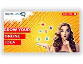 """Nro 8 kilpailuun Seven YouTube Thumbnails for """"Social Magnet"""" käyttäjältä Designidea336"""