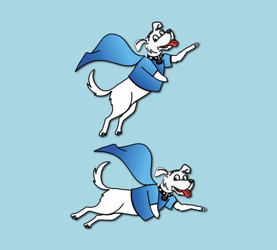 Konkurrenceindlæg #                                        24                                      for                                         Hand Drawing (logo) of ZAM the super dog
