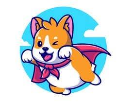 #37 for Hand Drawing (logo) of ZAM the super dog af sharminnaharm
