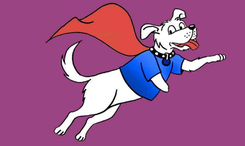 Konkurrenceindlæg #                                        40                                      for                                         Hand Drawing (logo) of ZAM the super dog