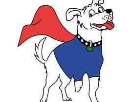 #36 for Hand Drawing (logo) of ZAM the super dog af ansercreation