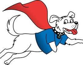#26 for Hand Drawing (logo) of ZAM the super dog af deckiaditian17
