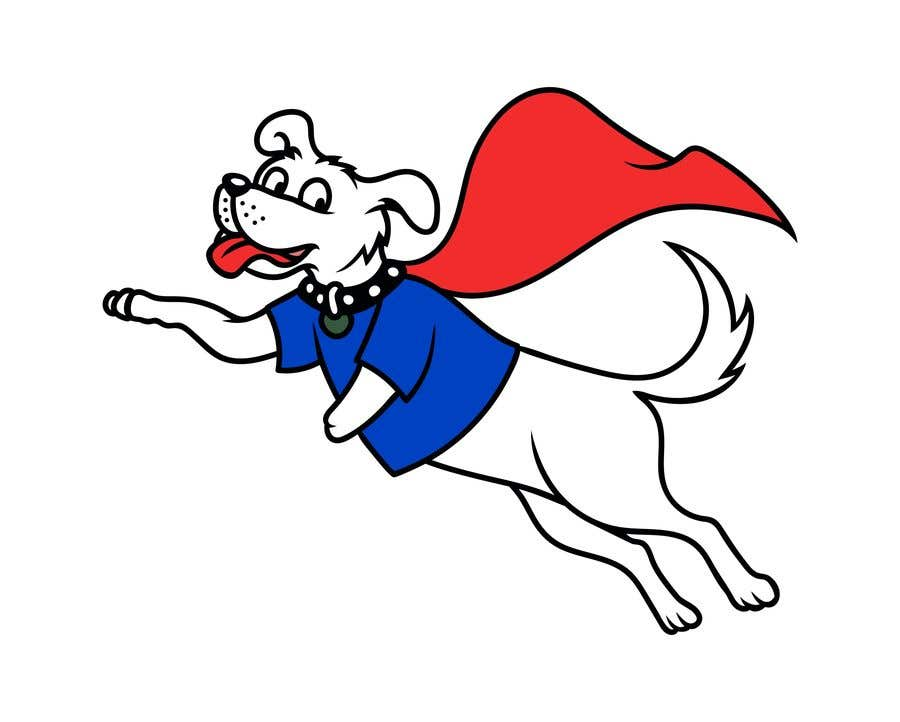 Konkurrenceindlæg #                                        34                                      for                                         Hand Drawing (logo) of ZAM the super dog