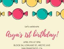 #59 для Create 3 birthday invitations for a birthday party от wahabqureshi1239