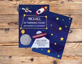 #66 для Create 3 birthday invitations for a birthday party от alenabilkova