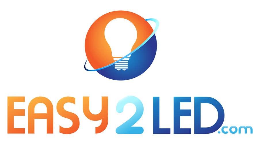 Penyertaan Peraduan #113 untuk Design a Logo for Easy2LED.com