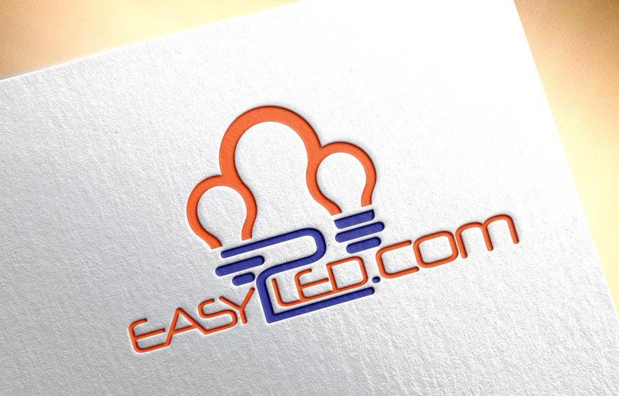 Penyertaan Peraduan #91 untuk Design a Logo for Easy2LED.com