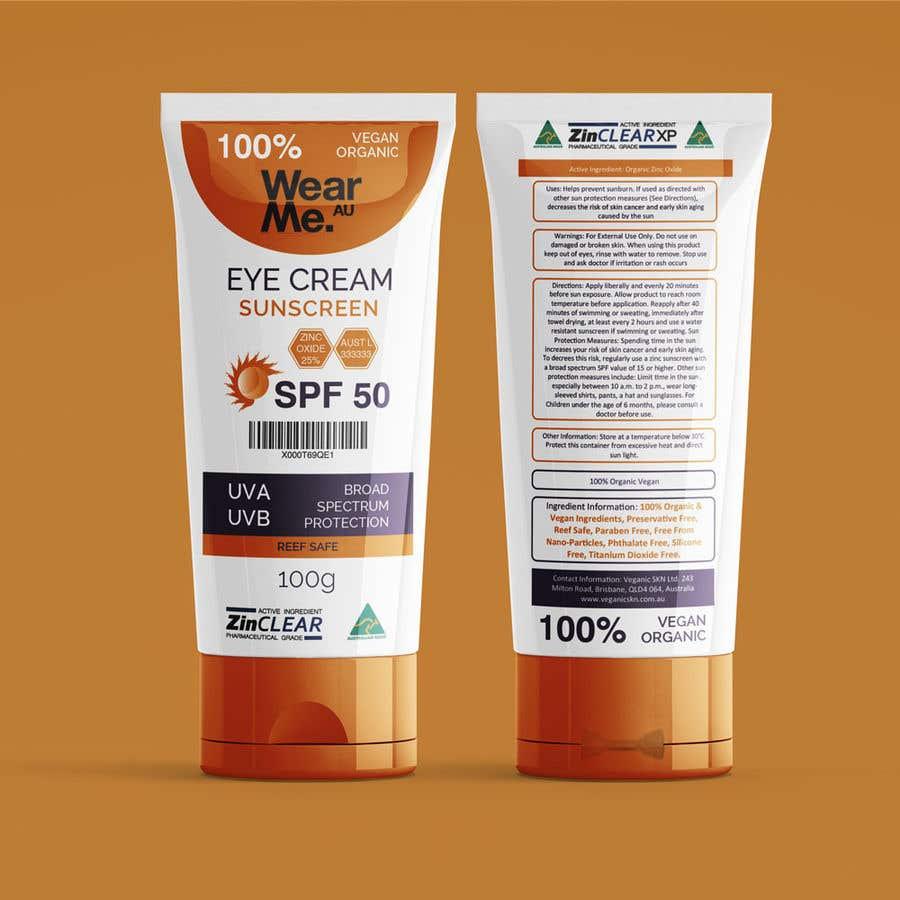 Konkurrenceindlæg #                                        84                                      for                                         Design a Sunscreen Tube Packaging!